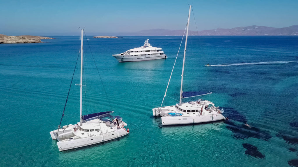 Sailing Cruise in Mykonos - The first timer! • Dolphin Navigation